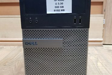 Dell Optiplex 3020 Core i5-4590 3.30GHz 8GB RAM 500GB HD USB 3.0 Win 10 Pro