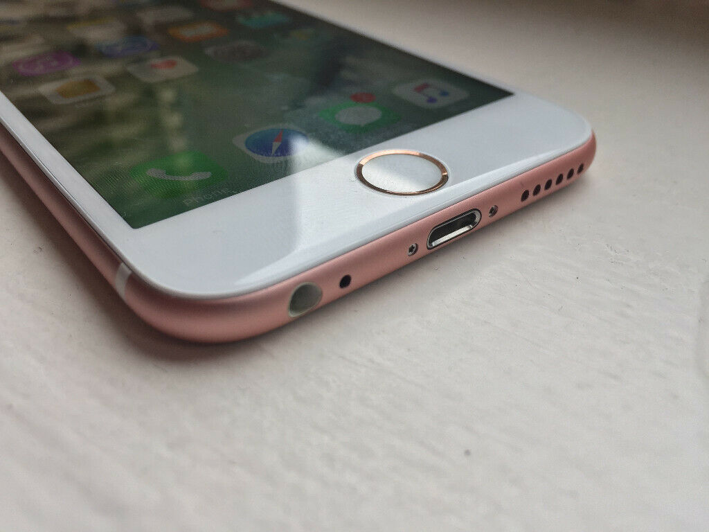 iPhone 6s rose gold unlocked 128GB in perfect condition