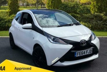 2014 Toyota Aygo 1.0 VVT-i X-Play 3dr Manual Petrol Hatchback